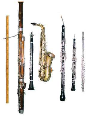 photo of wind instruments