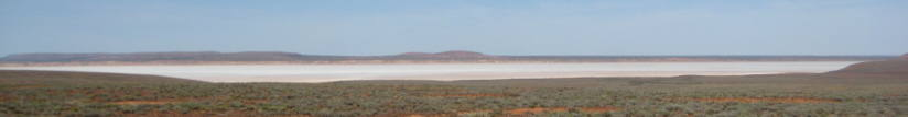 Salt lake near Port Augusta