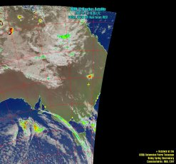 UNSW NOAA Satellite Maps for SSO